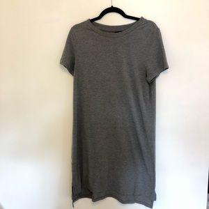 Mossimo   gray T-shirt Dress Size Large
